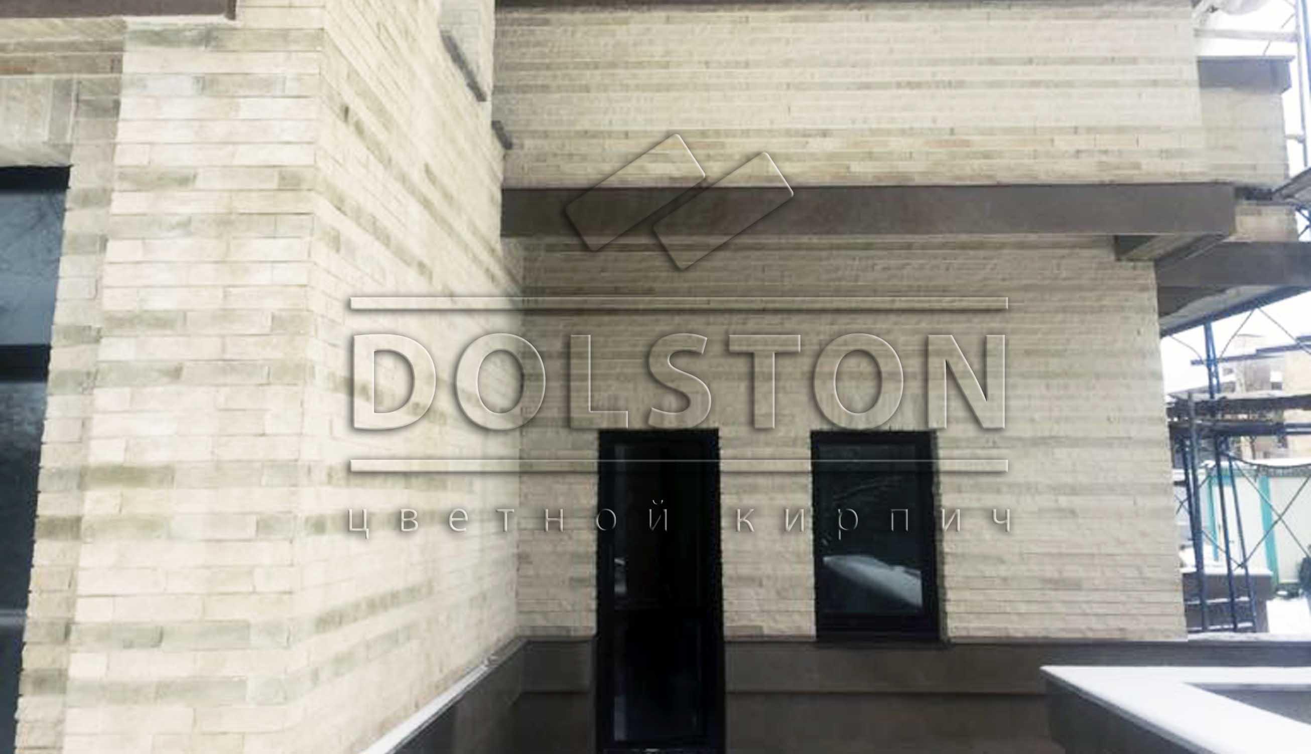 Отделка стен фасадной плиткой Долстон - фото № 6557